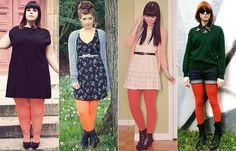 Como Usar: Meias-Calças Coloridas
