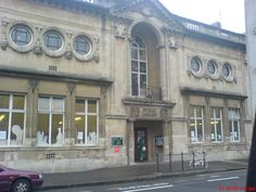 Hove Library - as a child spent many happy hours here ... William books, Enid Blyton, John Buchan, football autobiographies and more...