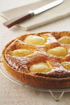 Dessert, la recette de la tarte aux poires à la frangipane - Gourmand - Recettes de cuisine