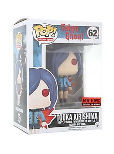 Funko Tokyo Ghoul Pop! Animation Touka Kirishima Vinyl Figure Hot Topic Exclusive Pre-Release,