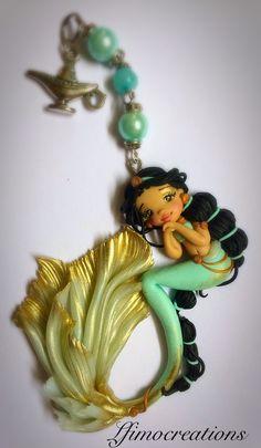 #Jasmine #princess #like  #instagood #follow #creative #artoftheday #lfimocreations #clay #creation #polymerclay #handmade #miniature #picoftheday #photooftheday #jewellery #jewelry #jewels #handmadejewelry #italia #italy #doll #dolls #mermaid #pinterest
