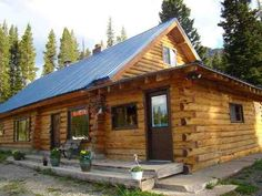 Log Cabin and Land for Sale in Montana