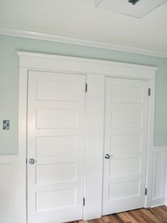 This is the type of interior doors that I am after to be used with glass door knobs...
