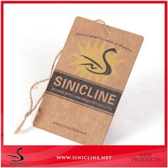 Sinicline High Quality Jeans Paper Hang Tag with Hemp Rope, View jeans paper hang tag, Sinicline Product Details from Wuhan Sinicline Industry Co., Ltd. on Alibaba.com