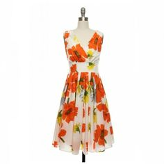 orange summer dress - Google Search