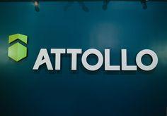 Attollo - Branded Signage - #branding #lancaster #lancasterpa #discoverlancaster #sign #signage