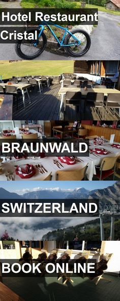 Hotel Restaurant Cristal in Braunwald, Switzerland. For more information, photos, reviews and best prices please follow the link. #Switzerland #Braunwald #travel #vacation #hotel
