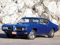 1969 Pontiac GTO. Ours is a convertible. Love that car!