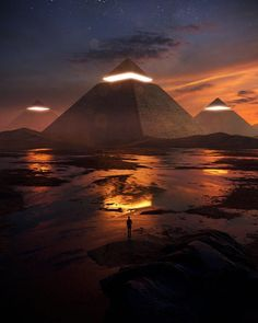 Pocket - Creative And Dreamlike Photo Manipulations By Josh Pierce Fantasy Art Landscapes, Fantasy Landscape, Landscape Art, Futuristic Art, Futuristic Architecture, Purple Aesthetic, Aesthetic Art, Aesthetic Drawings, Sci Fi Environment