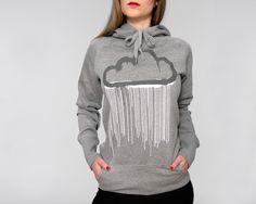 Hektik Streetwear  Cloud Women Hoodie   warm & cosy  heather grey - dark grey and white print #hektik #cloud #hoodie #streetwear #fashion #urban #streetart Grey And White, Dark Grey, Heather Grey, Street Wear, Hoodies, Streetwear Fashion, Cosy, Womens Fashion, Sweaters