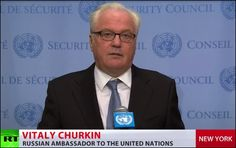 RT.com, Sept 18, 2016 (with video of Vitaly Churkin speaking in English to…