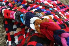 potholder rug from Crispina's etsy shop