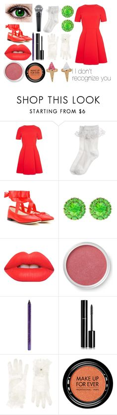 """FNAFSL Circus Baby"" by sconesareawesome-iggybrows ❤ liked on Polyvore featuring Monsoon, Repetto, Color My Life, Lime Crime, Bare Escentuals, NYX, Chanel and MAKE UP FOR EVER"