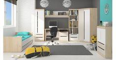 Jednoduchý, originální a poutavý je dětský  nábytkový program Smart . Originální způsob otevírání příjemně narušuje přední plochy, které pouhým drobným...