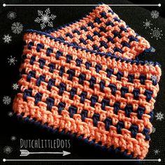 DutchLittleDots - Irene Haakt: Colsjaal sjaal met gratis haakpatroon haak patroon, col scarf with free crochet pattern!