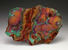 Malachite on Chalcopyrite