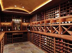 now that's a pretty wine cellar