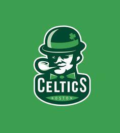 Boston Celtics Rebranding Concept