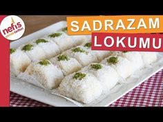 Sadrazam Lokumu (püf noktalarıyla kırılmadan nasıl sarılır) - Nefis Yemek Tarifleri