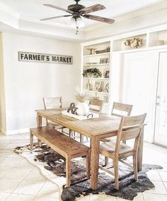 Sharing our #kitchennook for #moveitupmonday by @smalltowngirllife because currently this space is filled with the contents of our old pantry while the new one is being built. Ah #constructionlife.  ...................... #homerenovation #renovation #kitchenreno #newhouse #fixerupper #homedecor #homedecorating #farmhousedecor #farmhousefinds #farmhousestyle #farmhousekitchen by theriojashouse