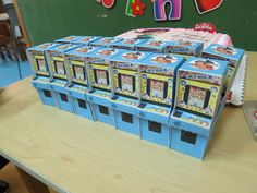 Fix-It Felix Arcade Game Boxes filled with Sweets