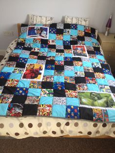Quilt Super Heros Quilt For Cody My Quilts Quilts