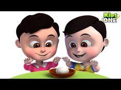 kids Rhymes: JOHN & JOHNNY Funny Prank Video EGG Fight | BROTHE...