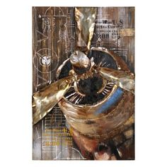 Give your walls an industrial edge with our Metal Plane Wood Plank Plaque! This plane is crafted on a metal overlay for a design that encompasses the room. Wood Plank Walls, Wood Planks, Metal Wall Art, Wood Art, Metal Homes, Custom Greeting Cards, Wall Art Decor, Paper Texture, Lion Sculpture