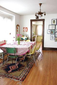 Original Boho Chic Dining Room Designs