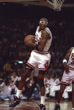 Horace Grant, who played for the Chicago Bulls from 1987 to 1994.