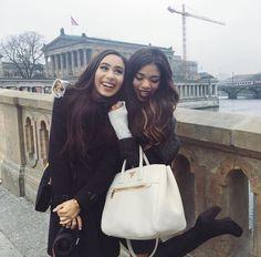 pinterest: lottiehayy Mylifeaseva - Eva Gutowski - Travel - best friends - London - Teala Dunn