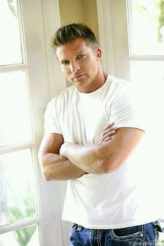 steve burton Y & R <---- no. Steve Burton will always be a part of GH Soap Opera Stars, Soap Stars, Bold And The Beautiful, Beautiful Men, Steve Burton, Awesome Beards, Hot Hunks, Young And The Restless, General Hospital