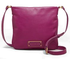 MARC by MARC JACOBS Too Hot to Handle Sia Crossbody Leather Bag, Brighter Purple Marc by Marc Jacobs http://www.amazon.com/dp/B00CE43LHE/ref=cm_sw_r_pi_dp_rOOnub03S5KM6