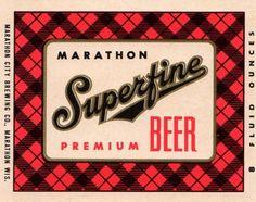 vintage beer label