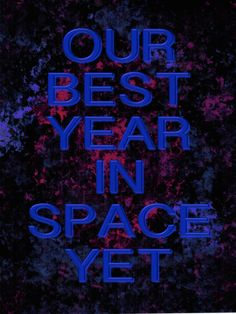 Our best year in space yet! David Brin, Science Fiction, Highlights, Neon Signs, Space, Sci Fi, Floor Space, Hair Highlights, Highlight