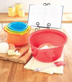 5-Pc. Oversized Mixing Bowl Set