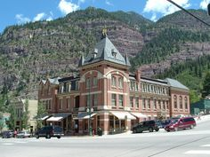 "Ouray, Colorado - Loved this Hotel !  Back in the 1800's they had a side door for the ""unescorted ladies"".... don't you just love that!"
