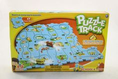 NEW Puzzle Track 19 pc School-Fire Theme Toy Playset