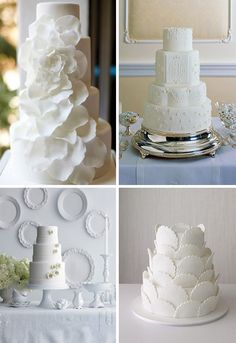 White cake! Beautiful!