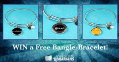 AwesomeLibrarians.com is giving away a bracelet of your choice! Enter your email to win (it's easy).