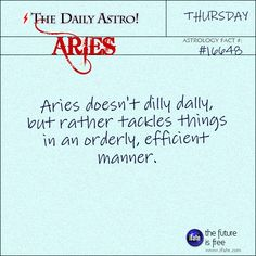 Daily Astro: Aries . http://ifate.com