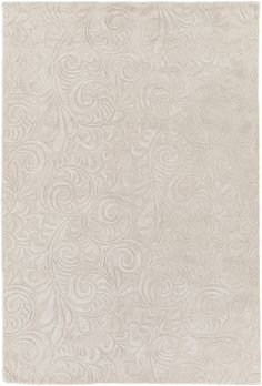 Surya Antoinette Solids and Tonals Area Rug Neutral