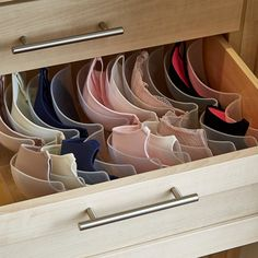 Boobie Trap Bra Organizer clothing drawers the container store now delivering to Australia Closet Organizer With Drawers, Closet Drawers, Drawer Dividers, Drawer Organisers, Bra Storage, Closet Storage, Lingerie Storage, Master Closet, Closet Bedroom