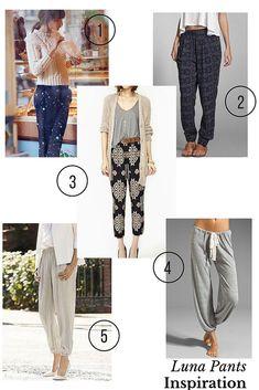 325b78ac4037d Luna Pants inspiration Make Your Own Clothes