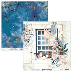 New Mintay Papers releases 2020 - collection Harmony Scrapbooking, Scrapbook Paper, System Glitch, Blue Dream Catcher, Paper Birds, Single Sheets, Bird Cards, Pad, Party Supplies
