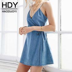 Aliexpress.com: Compre HDY Haoduoyi 2016 Mulheres Verão Moda A Linha Mini…