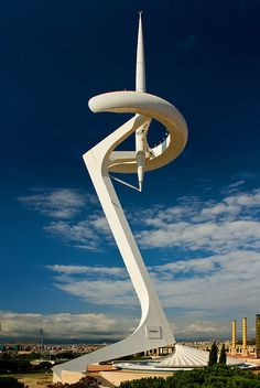 Montjuïc Communications Tower | Santiago Calatrava | Barcelona, Spain