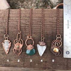 Copper Electroformed Necklace