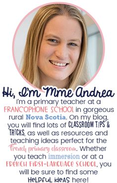 Classroom tips & tricks, resources and teaching ideas for the primary French classroom - immersion or French first-language French Teaching Resources, Teaching Ideas, French Classroom Decor, Teaching French Immersion, Communication Orale, Red Words, French Songs, Core French, Free In French