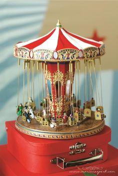Vintage Circus Party, Circus Theme Party, Circus Wedding, Circus Birthday, Birthday Party Themes, Circus Cupcakes, Circus Cookies, Carousel Musical, Carousel Party